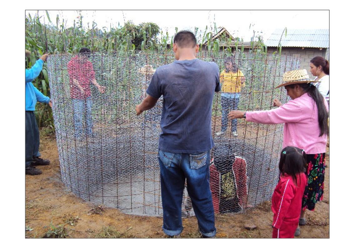 CONSTRUCCION DE CISTERNAS, COMUNIDAD INDIGENA CRESCENCIO MORALES,