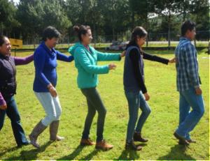 """Taller: Formación de formadores (Dinámica de integración """"el trenecito"""")"""