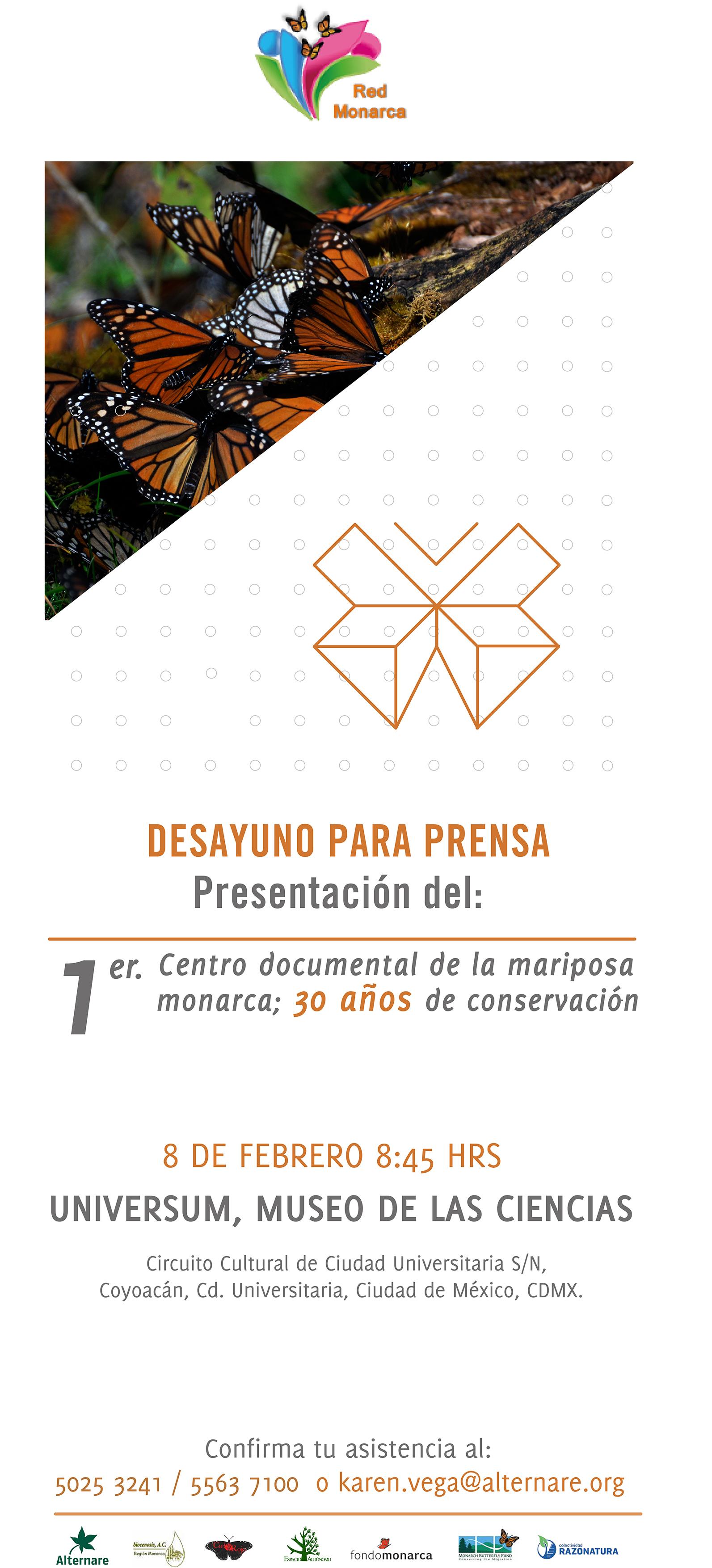 Presentación del Centro Documental de la Red Monarca