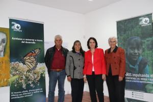 Fundadores de Alternare A.C. Gabriel Sánchez, Elia Hernández, Gudalupe del Río y Ana María Muñiz